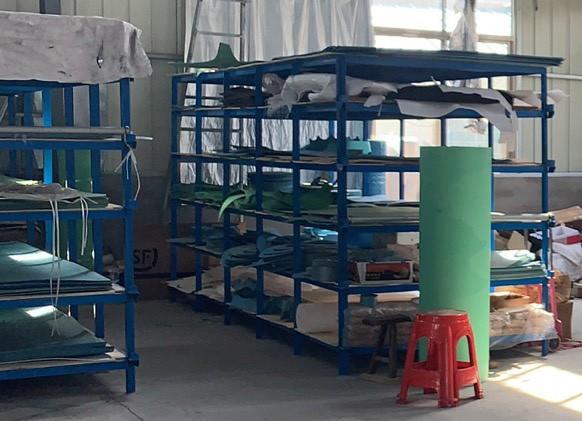 石棉板产品放置架